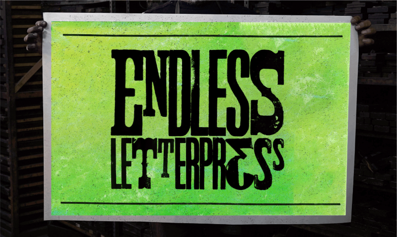 Endless Letterpress: a documentary