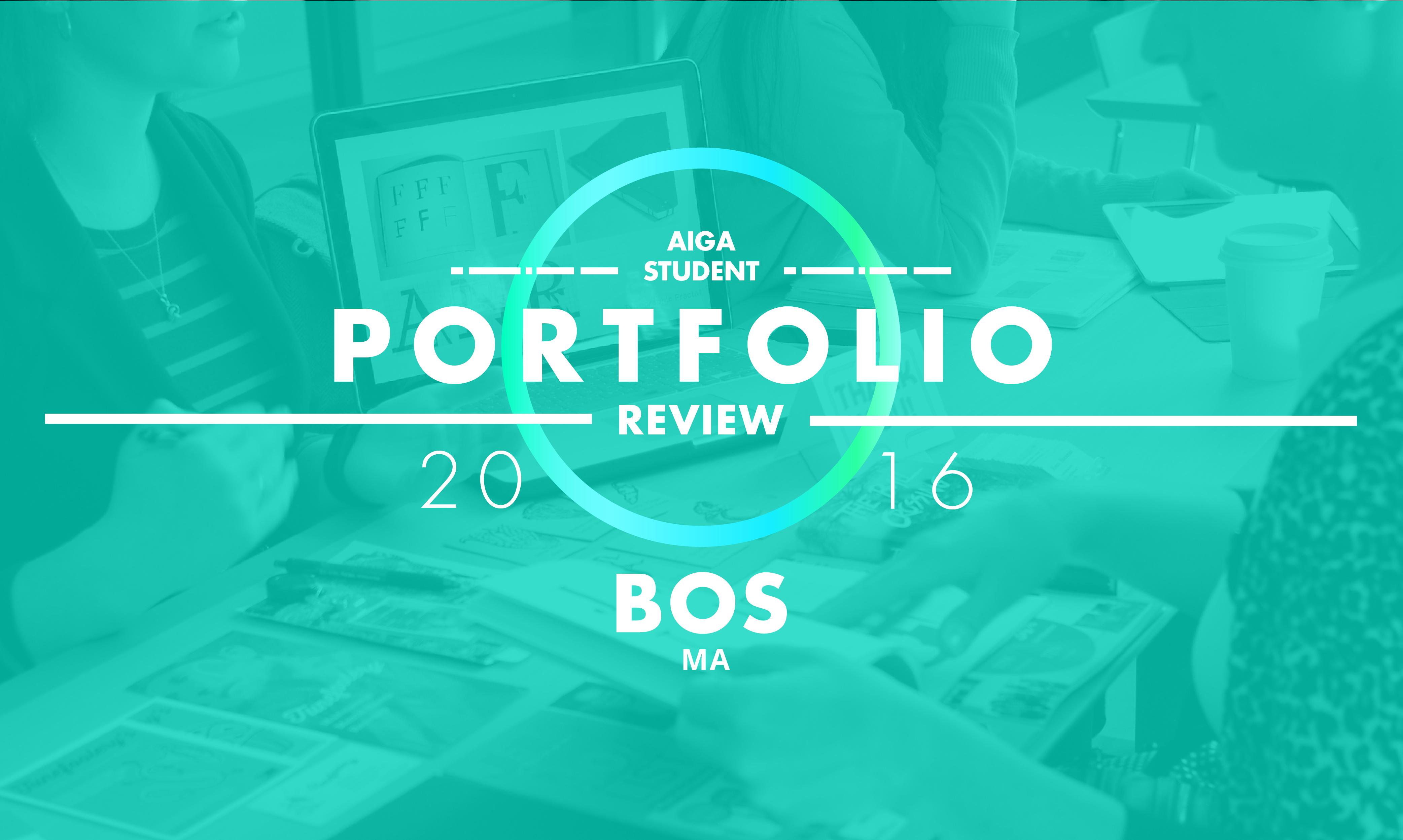 2016 student portfolio review