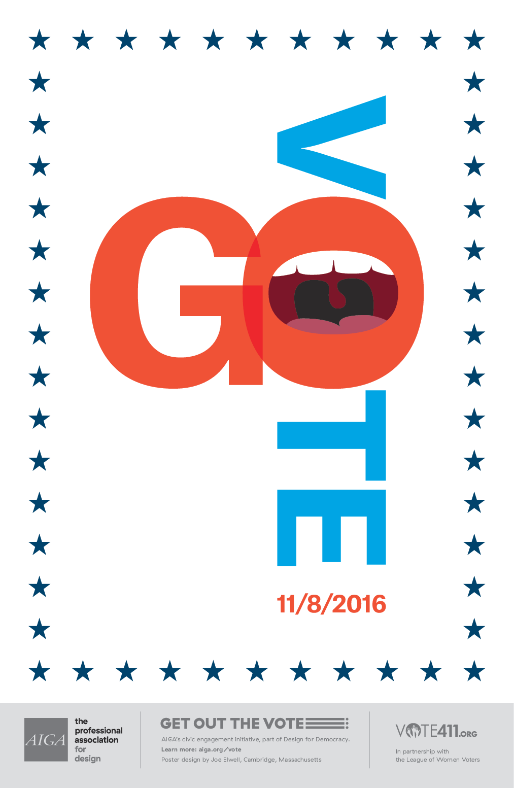 Go Vote by Joe Elwell