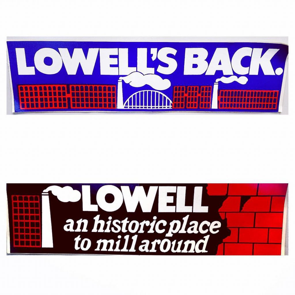Vintage Lowell Stickers
