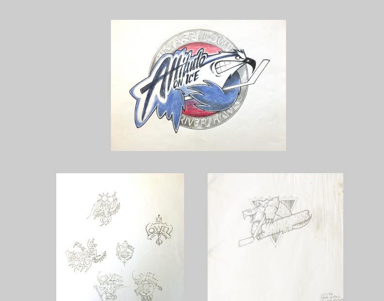 Selection of original pencil sketches