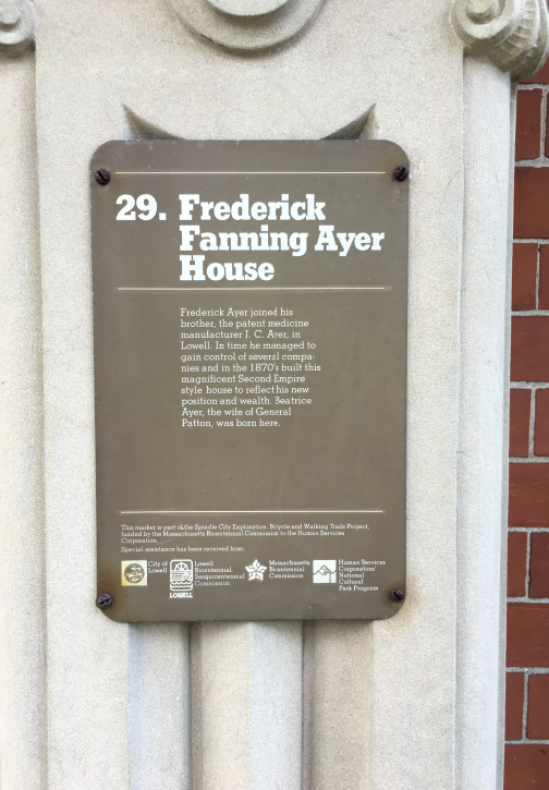 Franco American Plaque